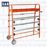 【SAR2122】4 - layer Paint masking paper dispenser /film cutting stand